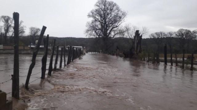 Foto: Se registraron inundaciones en el municipio de Tepehuanes, en Durango, 28 noviembre 2019