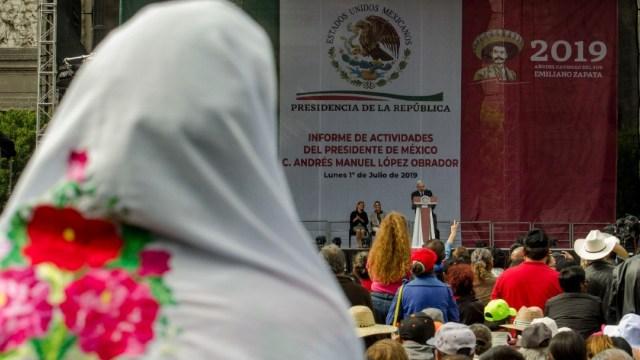 López Obrador no violó la ley con AMLOFest, avala el TEPJF