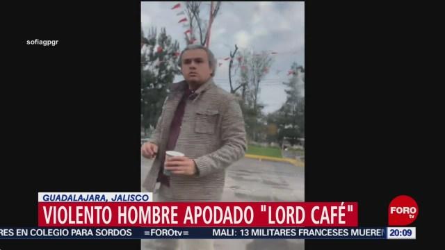 Foto: Lord Café Video Insulta Mujer Automovilista Guadalajara 26 Noviembre 2019