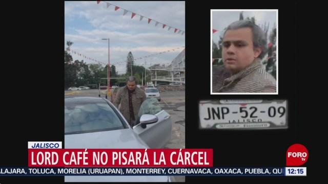 #LordCafe no pisará la cárcel, tras agresión contra conductora