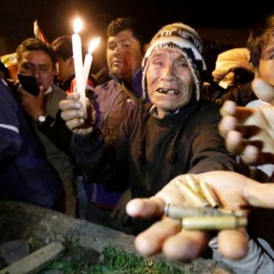 'Ejército tira a matar': conflictos en Cochabamba, Bolivia dejan 26 heridos