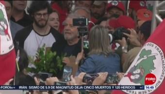 FOTO: Lula sale cárcel Brasil