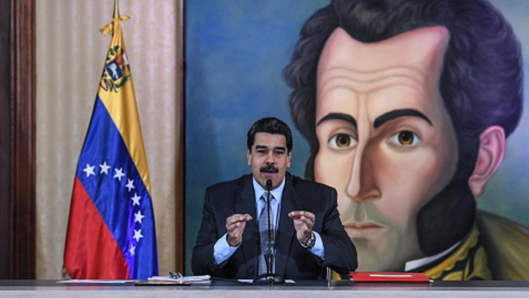 Imagen: Los oficialistas se concentraron para respaldar a Maduro y al boliviano Evo Morales, 16 de noviembre de 2019 (Getty Images, archivo)