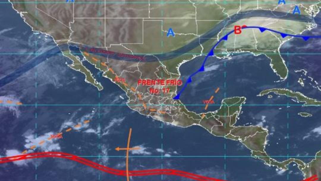 Foto: Imagen de fenómenos meteorológicos significativos de las 06:00 horas, 23 noviembre 2019