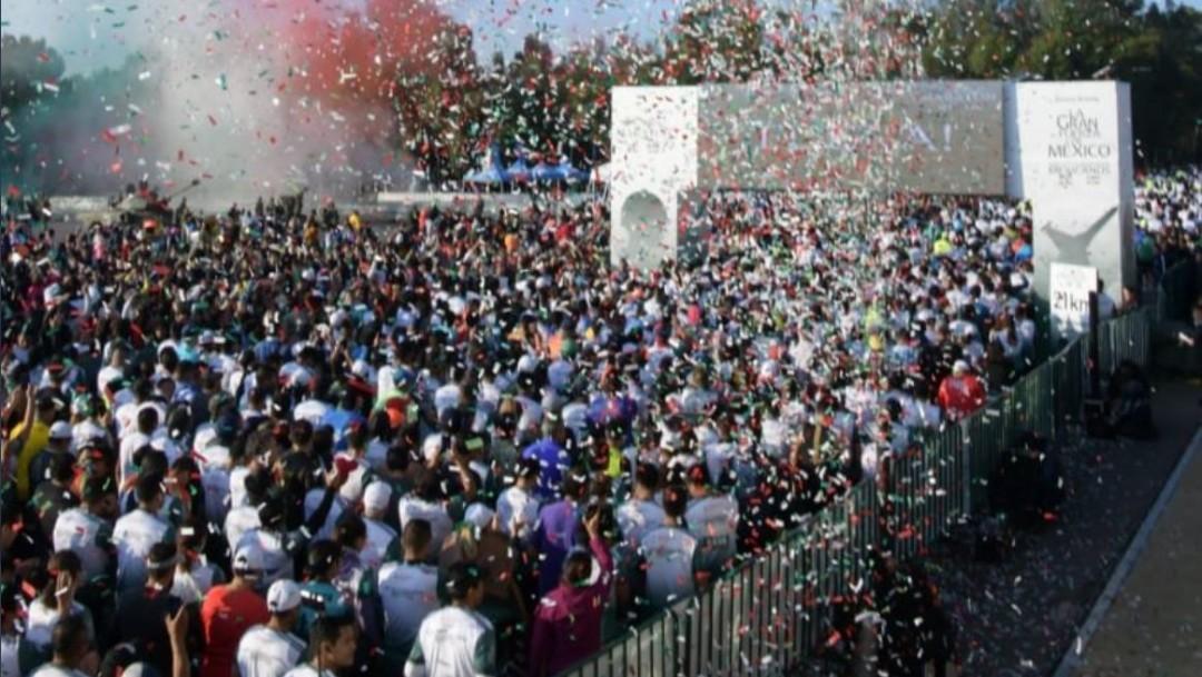 Foto: El evento deportivo se llevó a cabo como parte de los festejos previos a la conmemoración del 109 aniversario de la Revolución Mexicana
