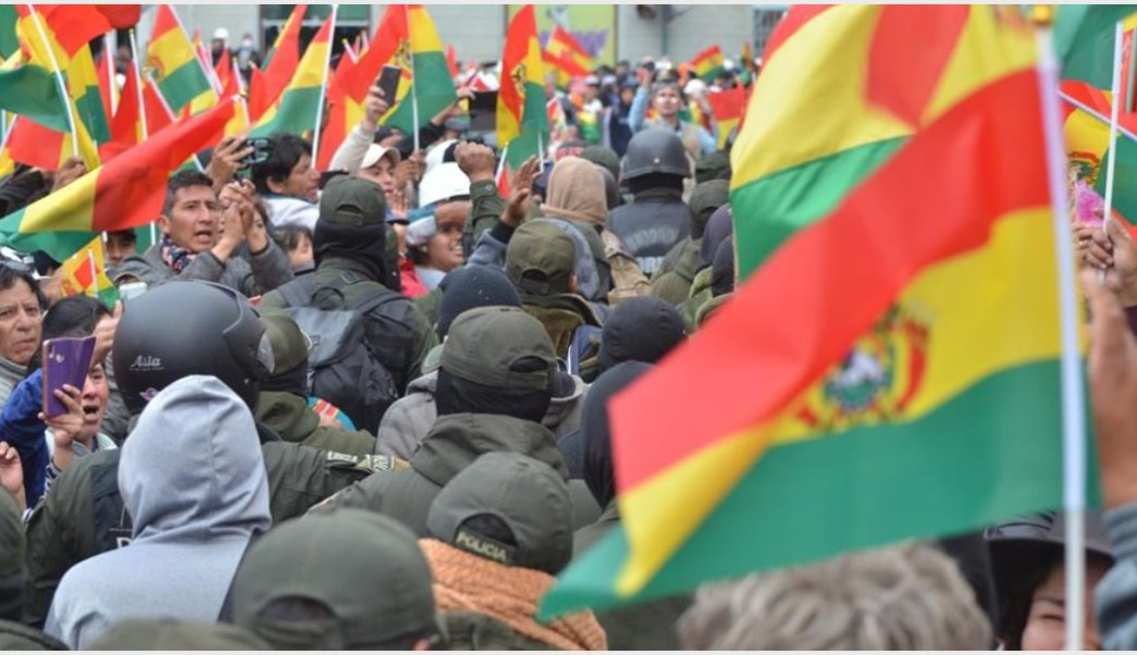 Imagen: Marcelo Ebrard dio su postura sobre lo vivido en Bolivia, 10 de noviembre de 2019 (EFE)