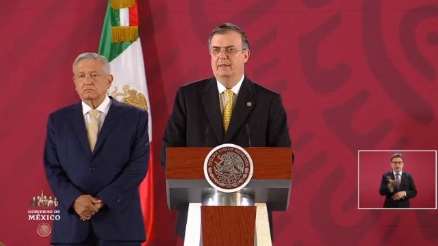 FOTO Ebrard confirma visita de procurador de EEUU a México, la próxima semana, para dialogar sobre caso LeBarón, cárteles de la droga y tráfico de armas (YouTube)