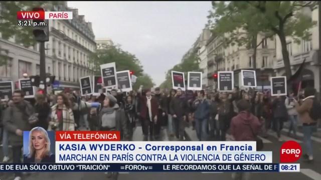 FOTO: Marchan París contra violencia género,