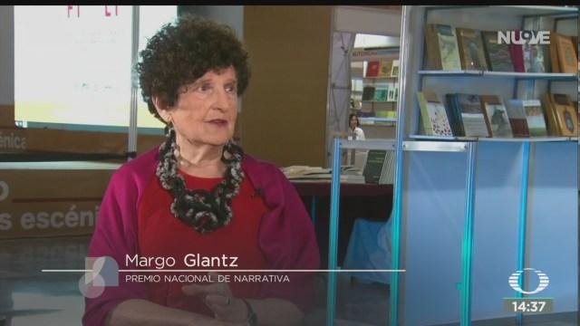 FOTO: Margo Glantz gana Premio Nacional Narrativa