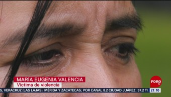 Foto: María Eugenia Denuncia 13 Años Violencia Expareja 21 Noviembre 2019
