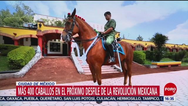 FOTO: Más 400 Caballos Próximo Desfile Revolución Mexicana