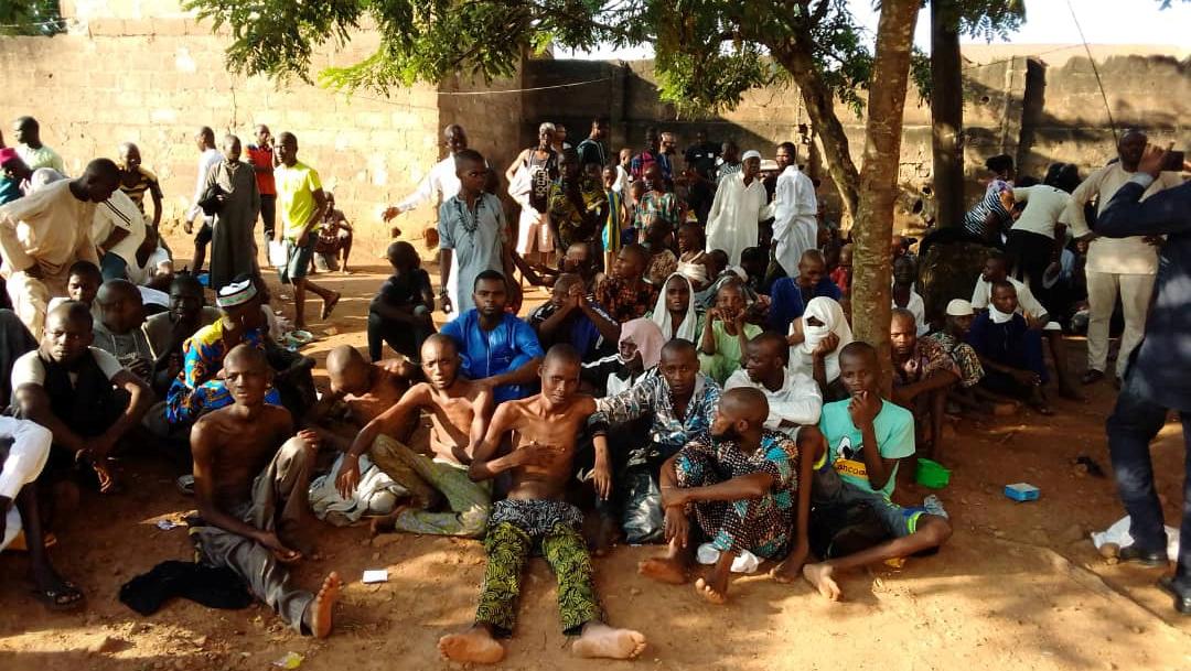 Foto: El mes pasado, el presidente nigeriano, Muhammadu Buhari, condenó la represión de escuelas islámicas abusivas, 5 de noviembre de 2019 (Reuters)