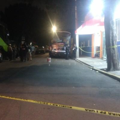 Matan a hombre en taquería de la CDMX