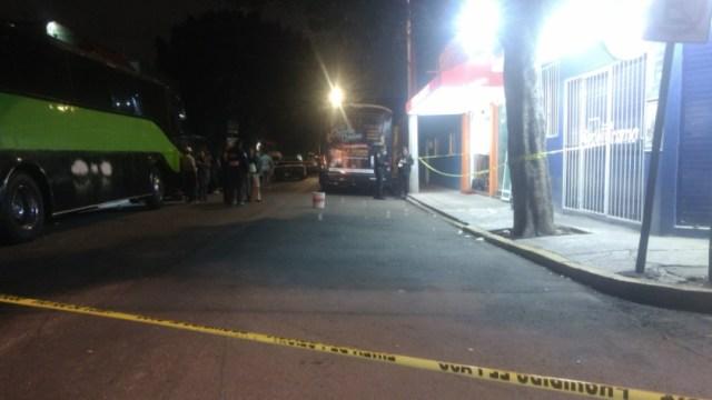 Foto: En la esquina del negocio hay una cámara de videovigilancia de la policía capitalina por dónde se le dio seguimiento a los delincuentes, 11 de noviembre de 2019 (Noticieros Televisa)