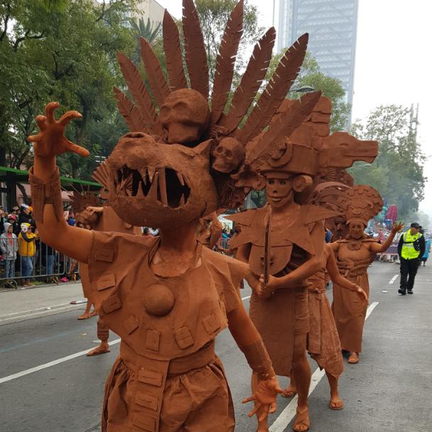 Fotos: Desfile del Día de Muertos en Imágenes, 2 de noviembre de 2019 (Twitter @FestivalMuertos)