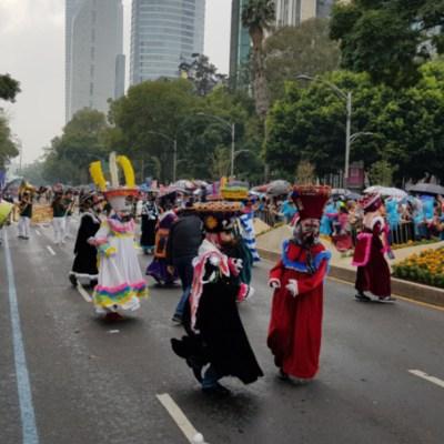 Fotos: Mega Desfile del Día de Muertos 2019 en la CDMX