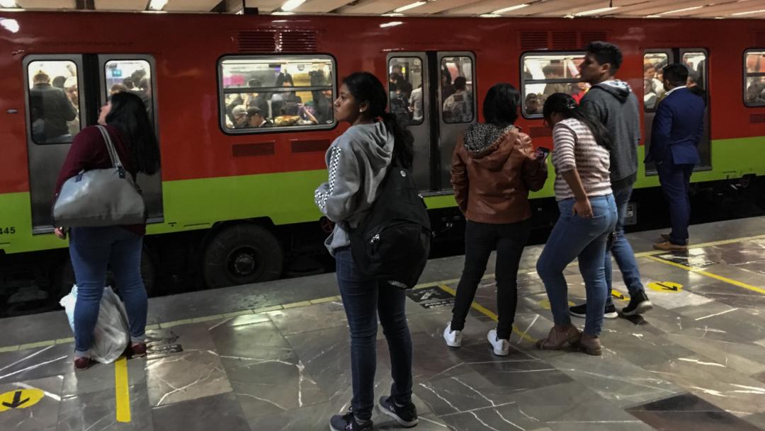 FOTO Metro CDMX anuncia proyecto de mejoras, será más rápido y frecuente (Cuartoscuro/Andrea Murcia)