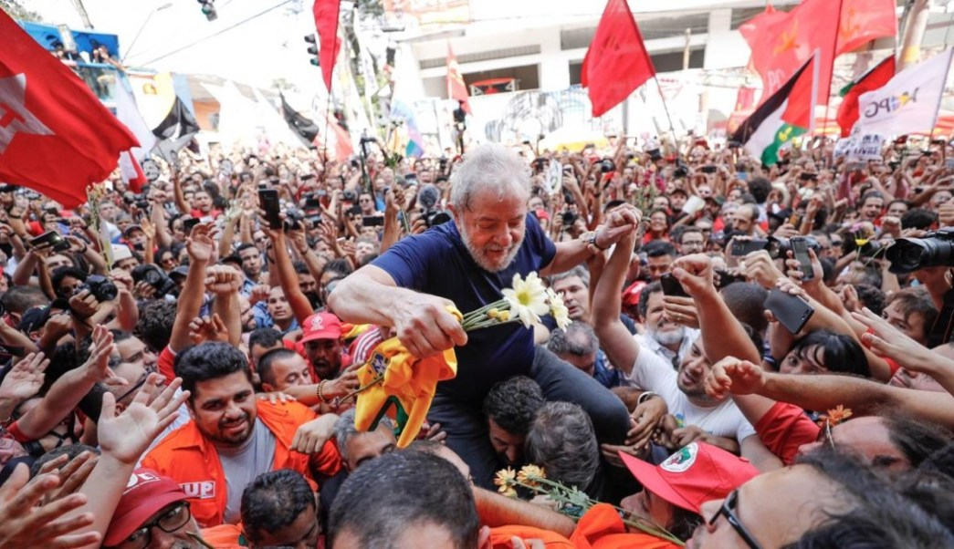 México aplaude la liberación de Luiz Inácio Lula da Silva