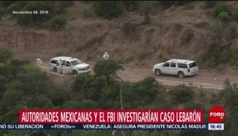 FOTO: México reconoce interés del FBI en investigar ataque contra familia LeBarón, 10 noviembre 2019