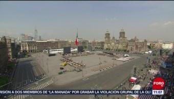 México recuerda 20 de noviembre con desfile conmemorativo en la CDMX (Parte 1)