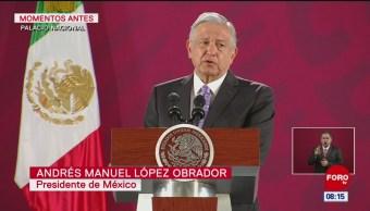 México seguirá tradición de política de asilo, dice AMLO