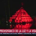 FOTO: Miles presenciaron Ritual Prehispánico Luz Vida Puebla,