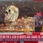 FOTO: Millones Mexicanos Celebran Con Ofrendas Día Muertos