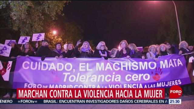 Foto: Millones Marchan Contra Violencia Hacia Mujer 25 Noviembre 2019