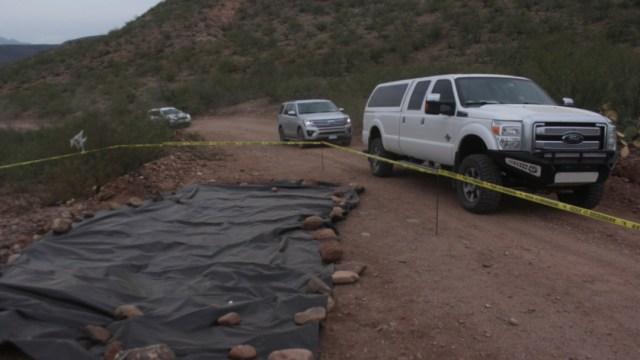 Imagen: Las decenas de familias salieron en casi 20 camionetas de Chihuahua con destino a Arizona, 11 de noviembre de 2019 (Nacho Ruiz /Cuartoscuro.com)
