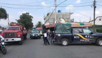 Los hechos ocurrieron en un domicilio de la calle Escarcha, esquina con Álvaro Carrillo, en la colonia San José Tláhuac. (Twitter: @InformativoMxi1)
