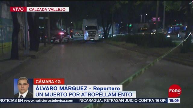 Foto: Muere Hombre Atropellado Calzada Vallejo Hoy 28 Noviembre 2019