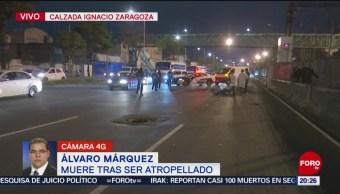 Foto: Muere Hombre Atropellado Calzada Zaragoza Cdmx Hoy 5 Noviembre 2019