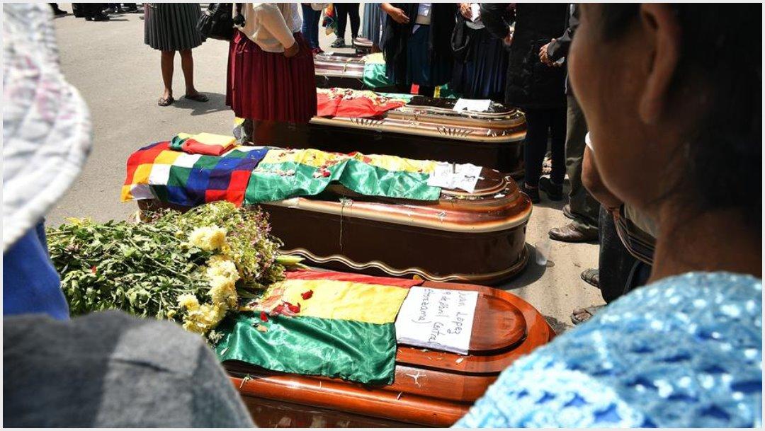 Foto: Sube el número de fallecidos tras el estallido social en Bolivia, 16 de noviembre de 2019 (EFE)