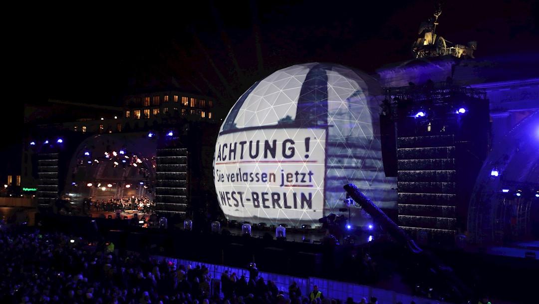 Foto: Berlín conmemoró este sábado el treinta aniversario de la caída del muro, 9 noviembre 2019