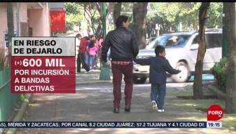 Foto: Niños Jóvenes Riesgo Crimen Organizado 6 Noviembre 2019