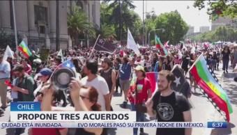 Nuevas protestas se registran en Chile