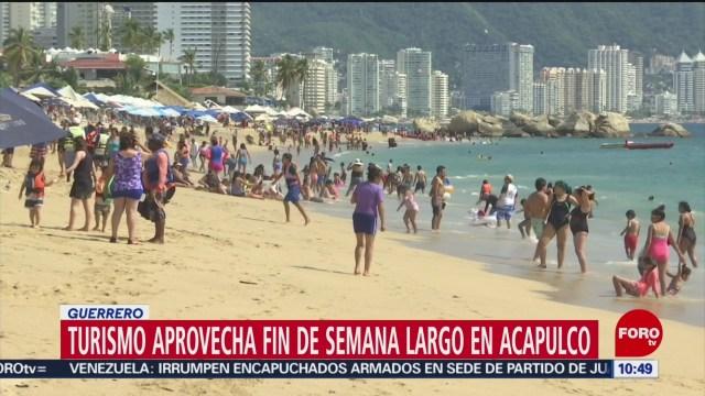 FOTO:Ocupación hotelera en Acapulco alcanza 94% en fin de semana largo, 17 noviembre 2019