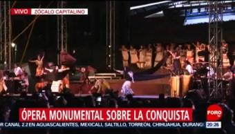 Foto: Opera Monumental Presenta Zócalo Cdmx 7 Noviembre 2019