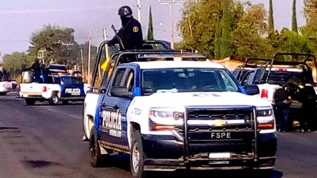 Foto: Operativo en Guanajuato provoca quema de camiones