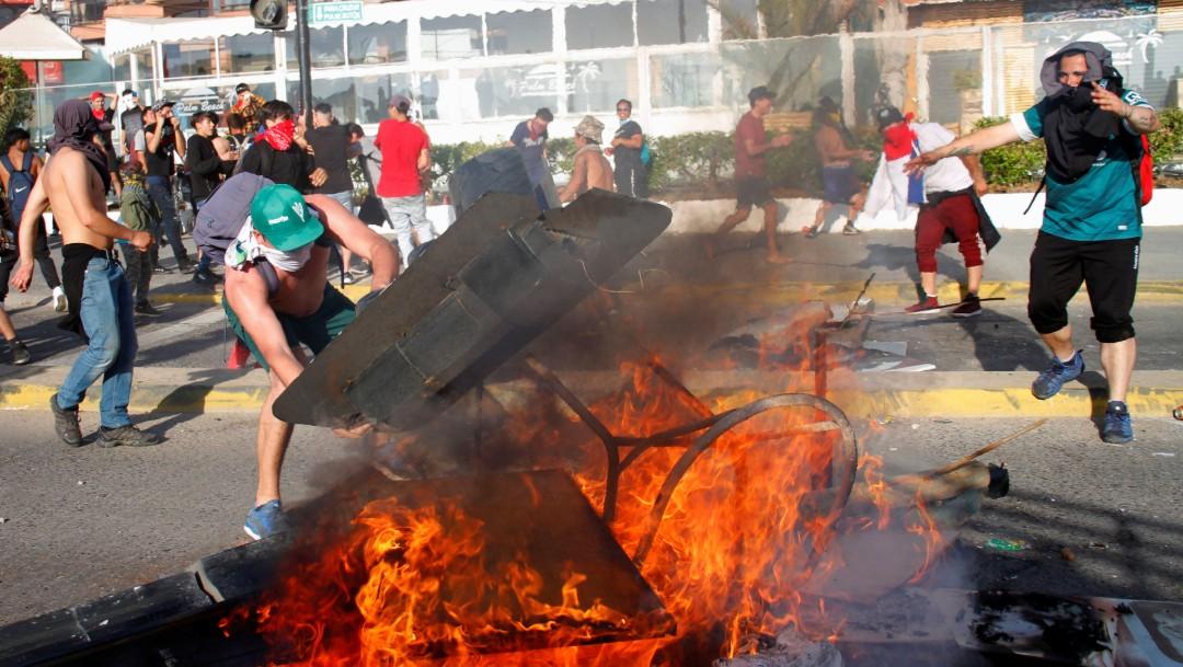 Foto: Oposición chilena rechaza anuncio sobre nueva Constitución