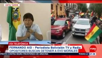 FOTO: ¿Opositores Buscan Detener A Evo Morales?, 10 noviembre 2019