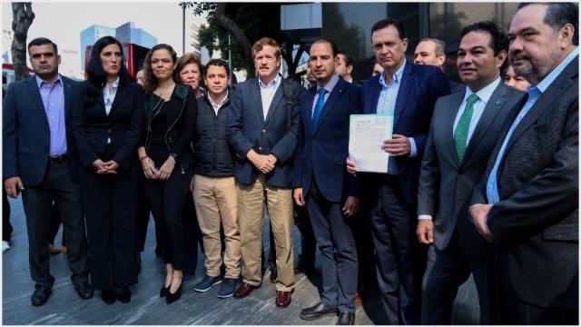 Imagen: El PAN hace un llamado para crear un frente contra el Presupuesto 2020, 24 de noviembre de 2019 ( GALO CAÑAS /CUARTOSCURO.COM)