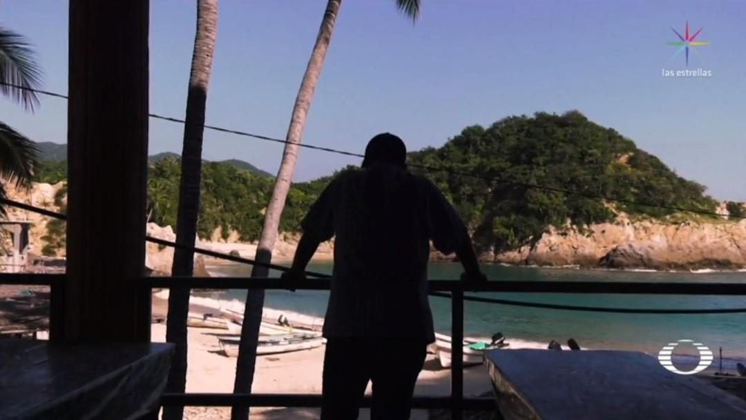 Foto: La playa de Pichilinguillo se convirtió en un sitio turístico abandonado, los habitantes y prestadores de servicios huyeron por las amenazas, extorsiones y homicidios que comenzaron integrantes de 'Los Tena'