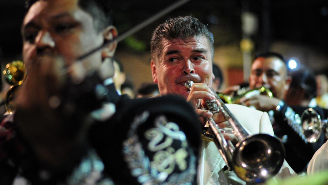 Foto: Decenas de mariachis y músicos de banda se concentraron en la Plaza Garibaldi para tocar algunas canciones., 28 septiembre 2018