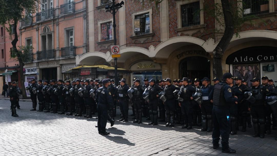 FOTO Policía CDMX alista operativo por Desfile de 20 de Noviembre