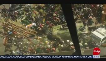 Foto: Video Policías Disparan Manifestantes Bolivia 21 Noviembre 2019
