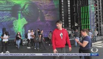 Premios Telehit, Al Aire se cuela a soundcheck