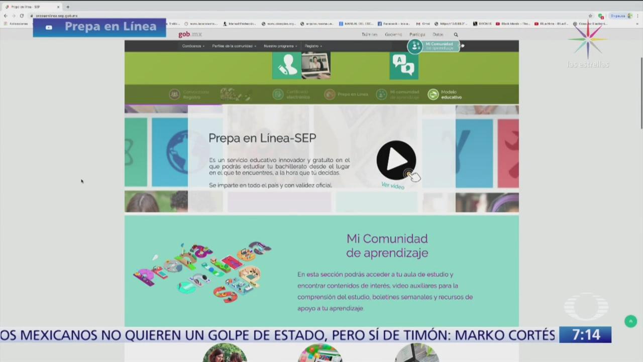 'Prepa en línea', un éxito en riesgo