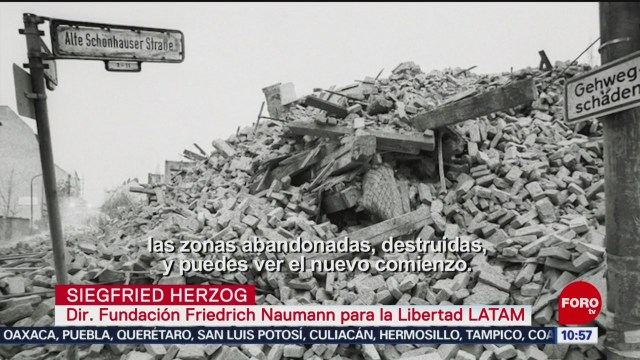 FOTO: Presentan exposición fotográfica de la vida en Berlín tras caída del muro, 24 noviembre 2019