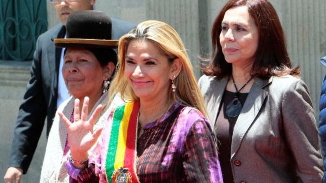 Foto: Presidenta de Bolivia anuncia que convocará a elecciones en próximas horas